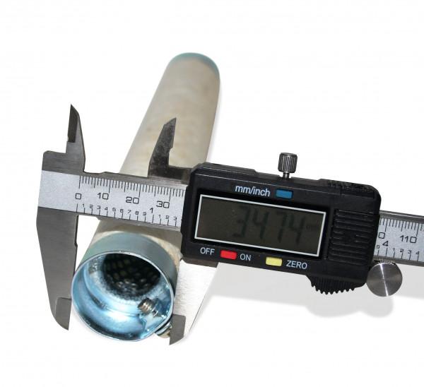 dB-Killer ca. 35 mm x 254 mm Universal dB-Eater für 1 1/2 Zoll Auspuffkrümmer
