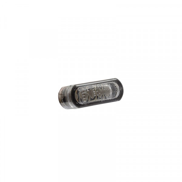 Micro-Blinker LED Rounded Smoke 21,5 x 8 mm