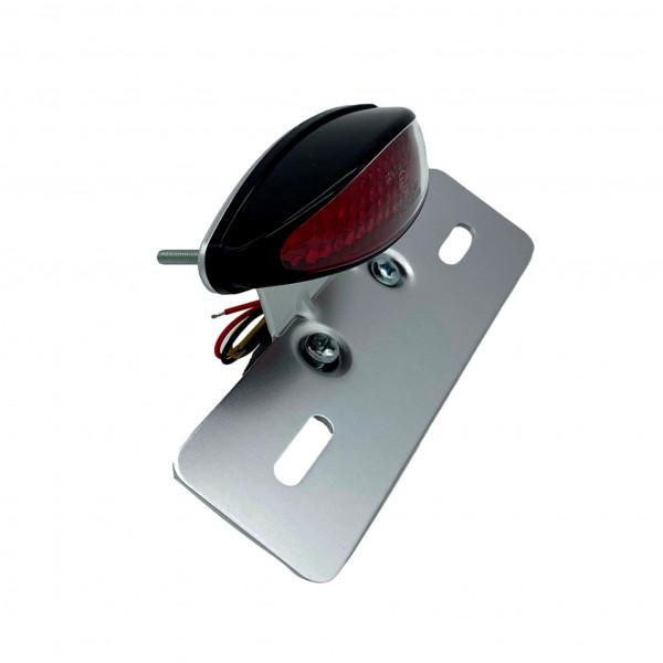 Lucas Style-Rücklicht LED mit Kennzeichenhalter, ECE