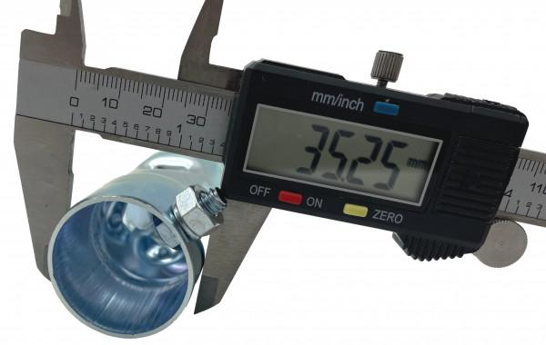 dB-Eater ca. 35 mm x 100 mm Universal für 1 1/2 Zoll Auspuffkrümmer