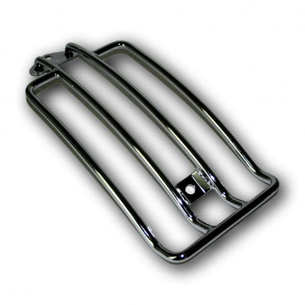 Formschöner Gepäckträger für H-D Sportster mit Solosattel bis 03, Inklusive Befestigungsmaterial