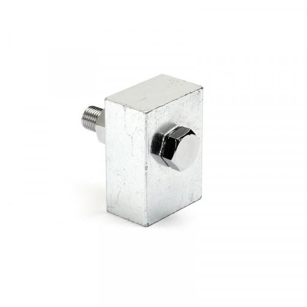Scheinwerfer-Montageblock 3/8 - 24 UNF Gewinde Chrom