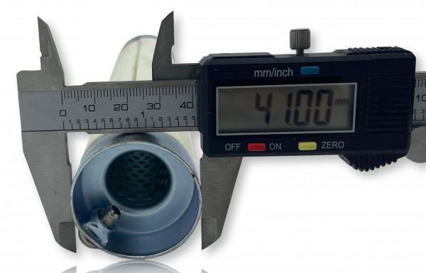 dB-Eater ca. 41 mm x 205 mm Universal für 1 3/4 Zoll Auspuffkrümmer