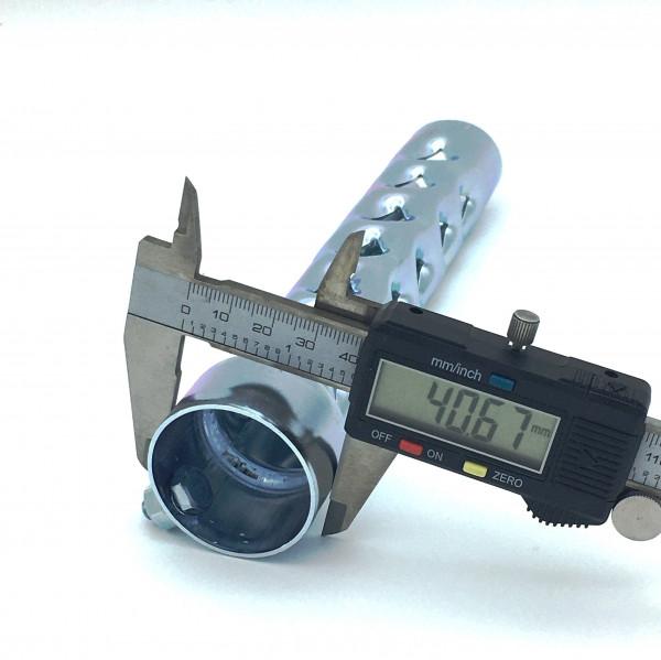 dB-Killer ca. 40 mm x 200 mm Universal dB-Eater für 1 3/4 Zoll Auspuffkrümmer