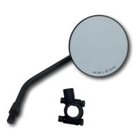 Spiegel, Spiegelhalterung, Set, Spiegelset, motorradspiegel, 22mm Lenker, Lenkerhalterung, Halterung, Spiegel, Rückspiegel