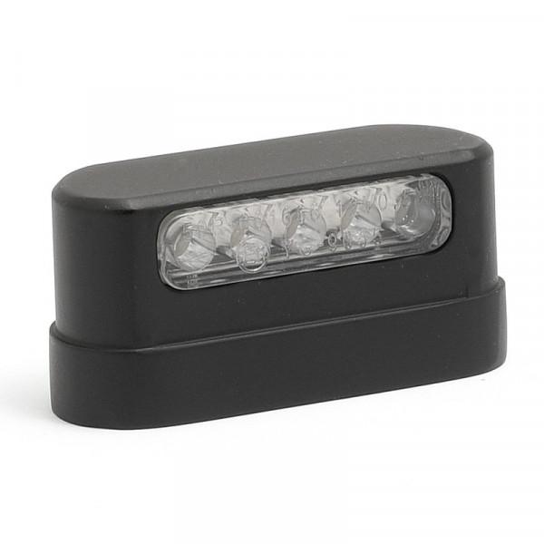 Kennzeichenbeleuchtung LED Schwarz