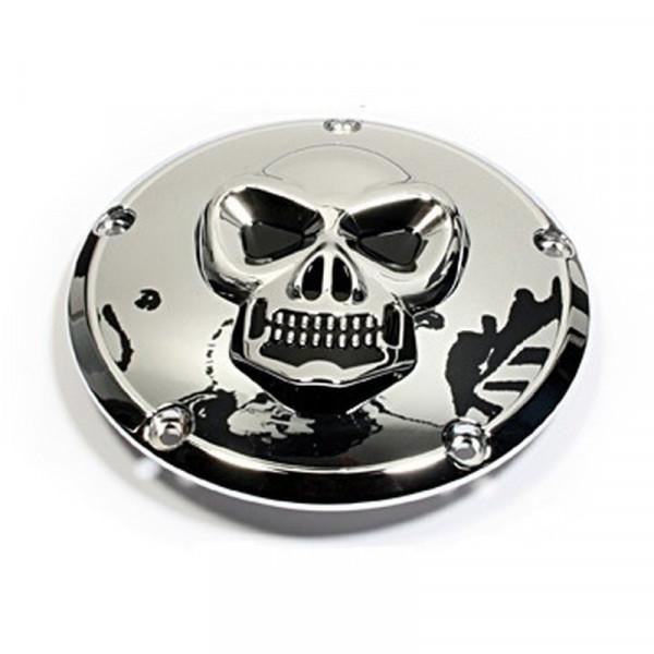 Kupplungsdeckel Skull Derbycover - Harley Twin Cam