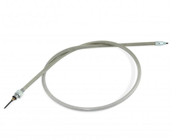 Tachowelle 98 cm zum Anschluss mit Minitachos mit 12 mm Feingewinde, HD Vorderrad