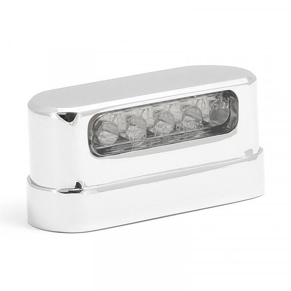 Kennzeichebeleuchtung LED Chrom