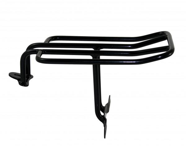 Frisco Style Gepäckträger für H-D Dyna FXD in Schwarz incl. Befestigungsmaterial