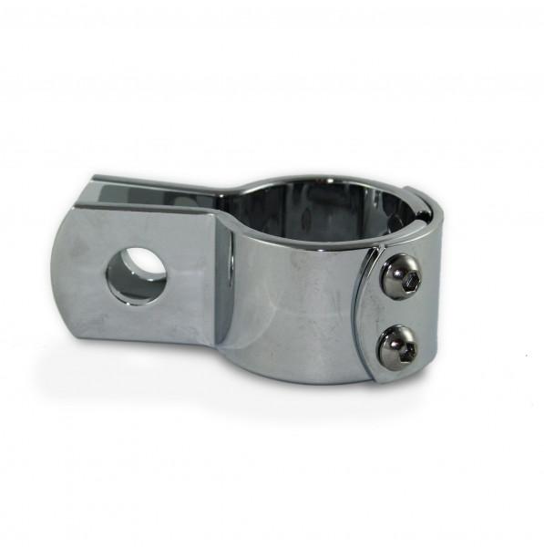 Hochglanzverchromte Sturzbügelklemme 1 1/2 Zoll (38 mm) für Universelle Verwendung