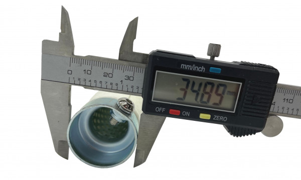 dB-Eater ca. 35 mm x 205 mm Universal für 1 1/2 Zoll Auspuffkrümmer