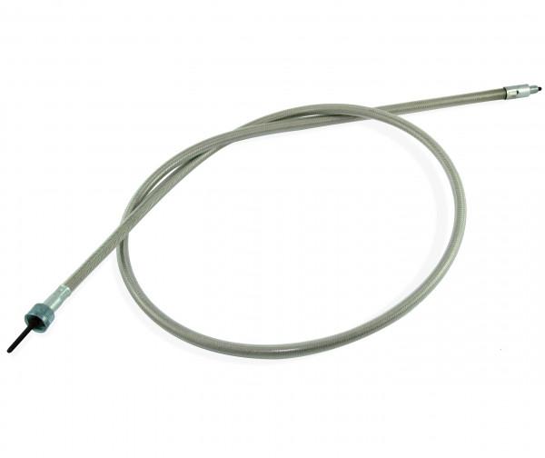 Tachowelle 112 cm zum Anschluss mit Minitachos mit 12 mm Feingewinde, HD Vorderrad