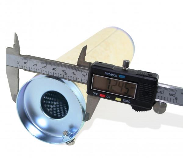dB-Killer ca. 73 mm x 254 mm Universal dB-Eater für 3 Zoll Auspuffkrümmer