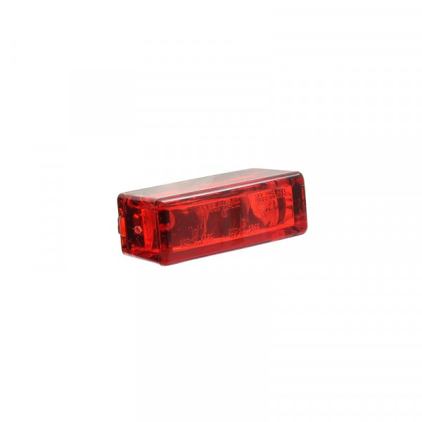 Micro-Rücklicht Rectangle Red LED 27 x 10 mm