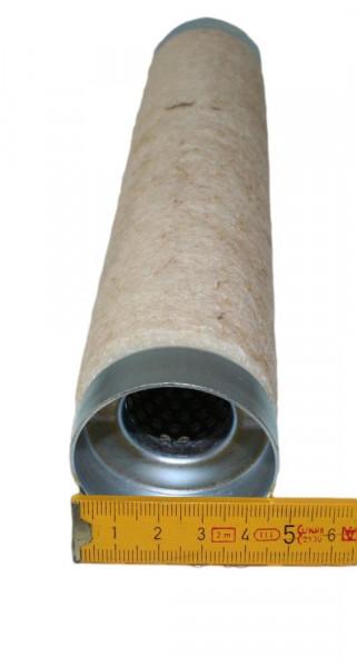 dB-Killer ca. 47 mm x 254 mm Universal dB-Eater für 2 Zoll Auspuffkrümmer