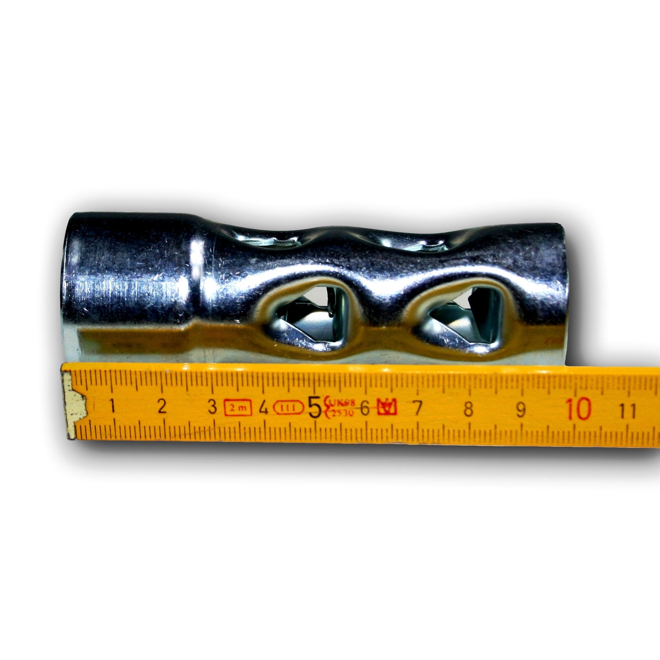 dB-Killer 35mm x 205mm Universal dB-Eater f/ür 1 1//2 Zoll Kr/ümmer Auspuff