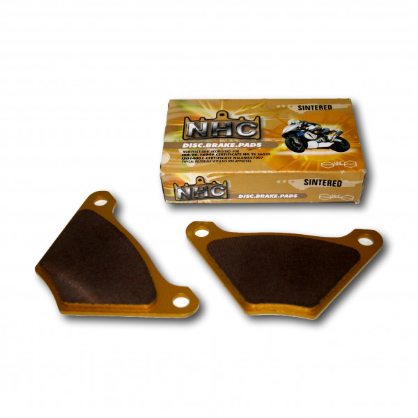 Sinter-Metall Bremsbeläge für Harley-Davidson FL und FX 72-84, Hinten