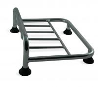 Hochglanzverchromter Gepäckträger - Topcase UP incl. Befestigungsmaterial