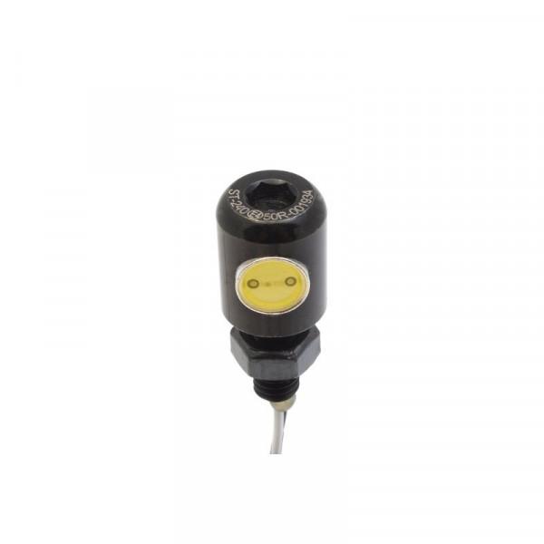 Kennzeichenbeleuchtung Mini LED Schraube Schwarz