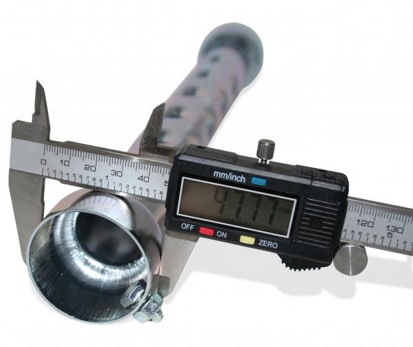 dB-Killer ca. 48 mm x 330 mm Universal dB-Eater für 2 Zoll Auspuffkrümmer