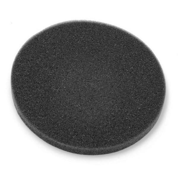 Luftfiltereinsatz rund aus dunkelgrauem Schaumstoff 185 mm