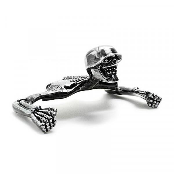 Skelett Scheinwerfer-Ornament 4 bis 5 3/4