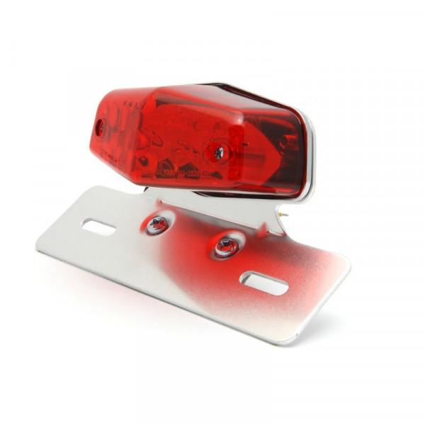Lucas Style-Rücklicht LED mit Kennzeichenhalter