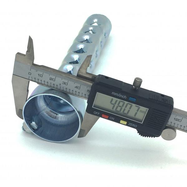 dB-Killer ca. 48 mm x 200 mm Universal dB-Eater für 2 Zoll Auspuffkrümmer