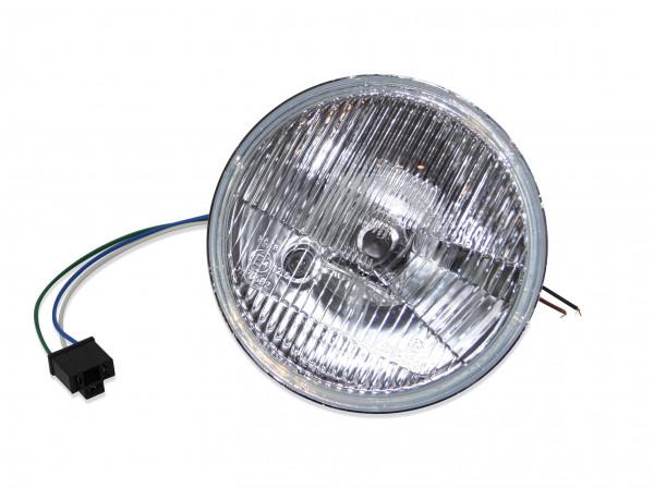 H4-Scheinwerfereinsatz 7 Zoll, inklusive H4- und Standlichtbirne