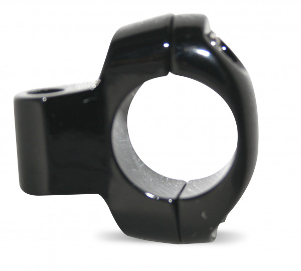 Seidenmatt-Schwarze Spiegelhalterung für 1 Zoll Lenker (25,4 mm)