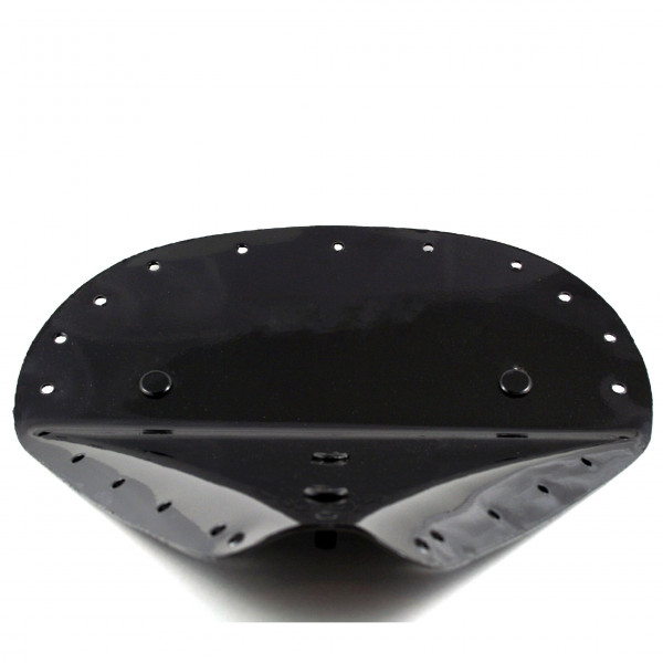 Großer Sitzpfanne Wide aus Stahlblech Universell Verwendbar