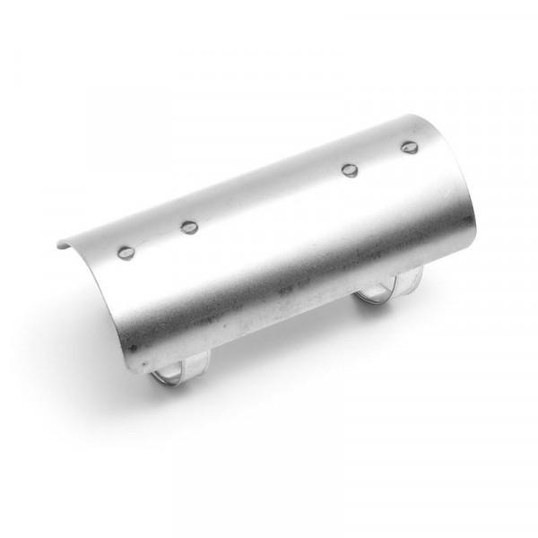 Hitzeschutzblech für 2-¼ , 57 mm Krümmer, 152 mm lang, RAW