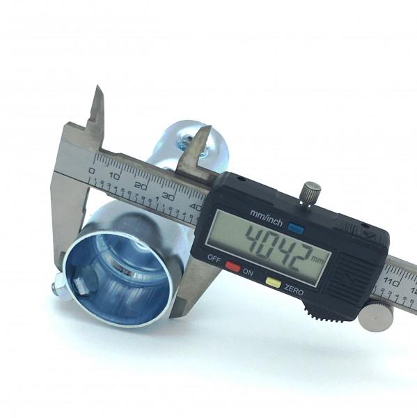 dB-Killer ca. 40 mm x 100 mm Universal dB-Eater für 1 3/4 Zoll Auspuffkrümmer