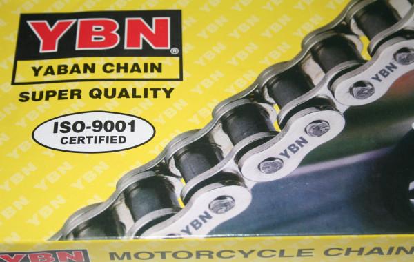 YBN Motorradkette Teilung 530 für Harley-Davidson-Modelle mit Kettenantrieb zum Hinterrad