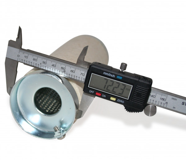 dB-Eater ca. 73 mm x 207 mm Universal für 3 Zoll Auspuffkrümmer